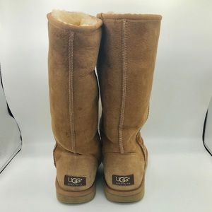 UGG tall size 8 chestnut boots